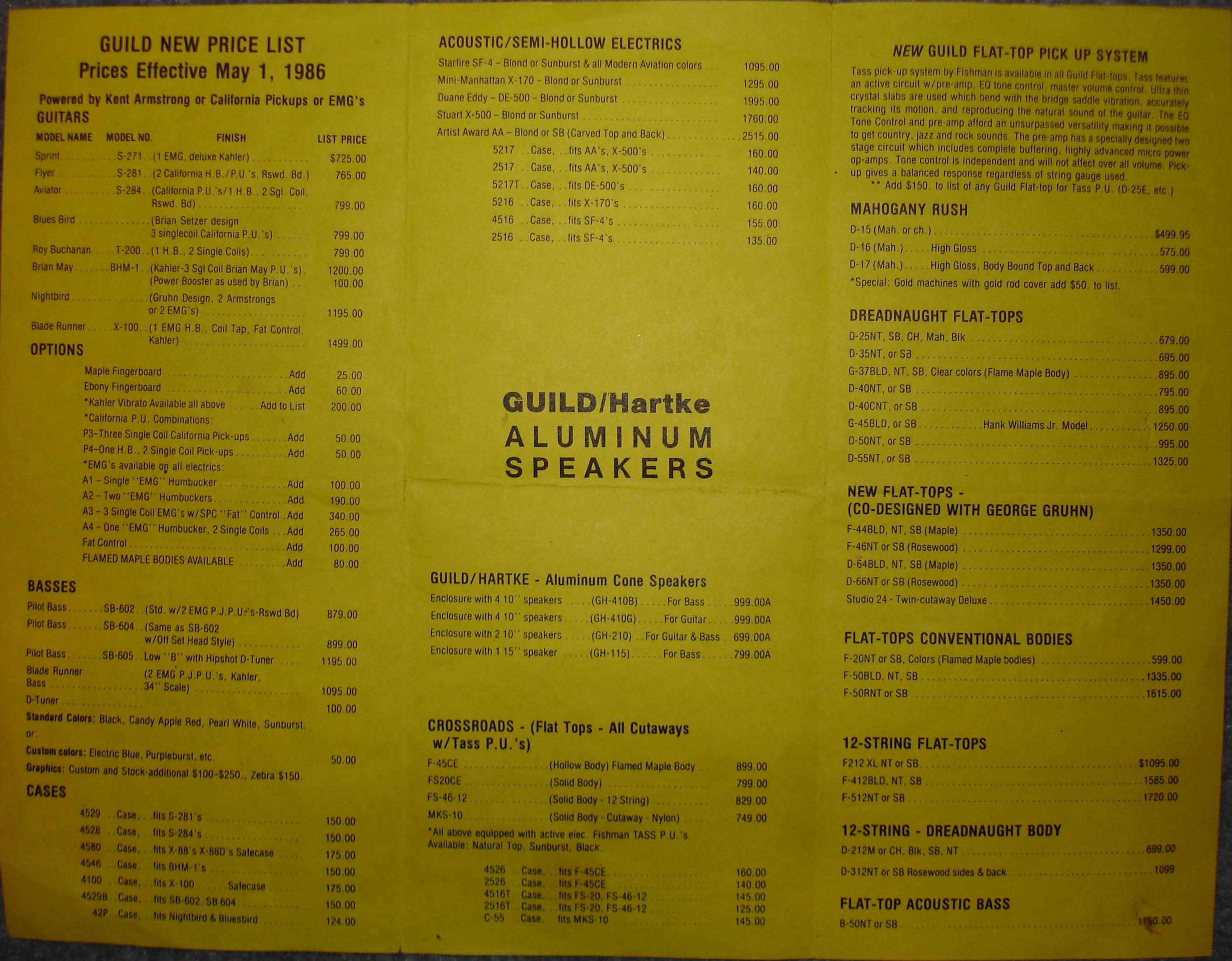 Guild gad serial number dating
